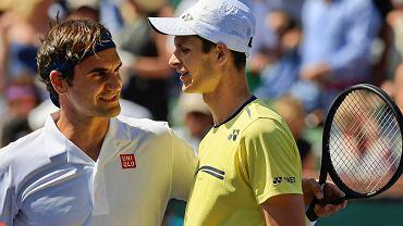 Roger Federer i Hubert Hurkacz
