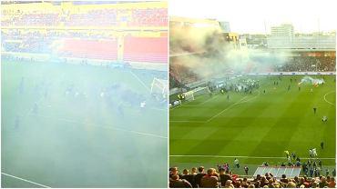 Zamieszki podczas meczu Slovana Bratysława ze Spartakiem Trnawa