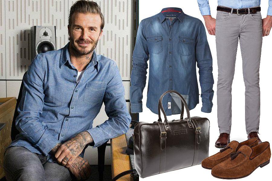 Jak się ubrać do pracy - koszula jeansowa