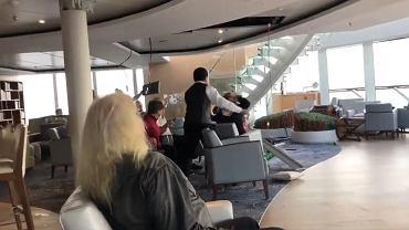 Dramatyczne chwile na pokładzie Viking Sky