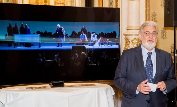 Placido Domingo i transmisja Ultra HD