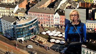 Grażyna Welon zapewnia, że mieszka w centrum Sosnowca