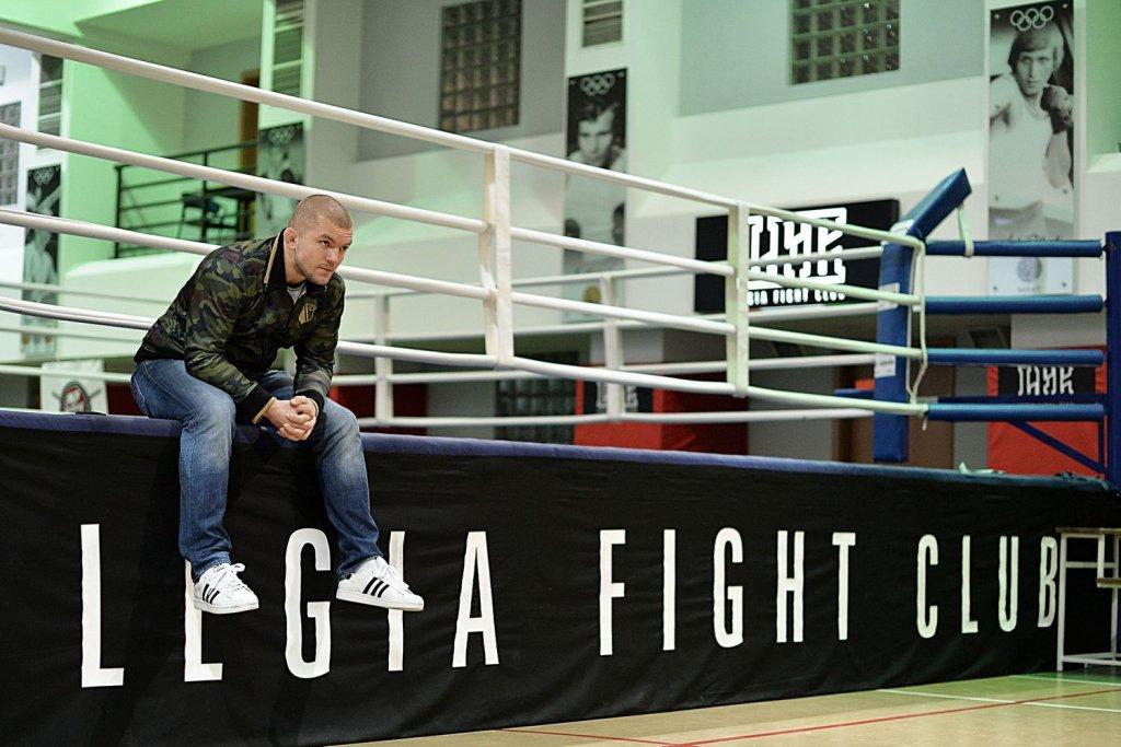 Łukasz Jurkowski w Legia Fight Club