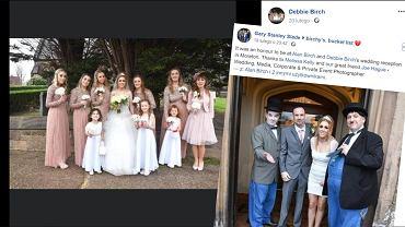 Chory na raka mężczyzna poślubił partnerkę, z którą ma siedmioro dzieci.