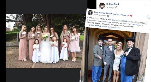 Poślubił partnerkę, gdy zostało mu kilka miesięcy życia. Na wzruszającym ślubie było siedmioro dzieci pary