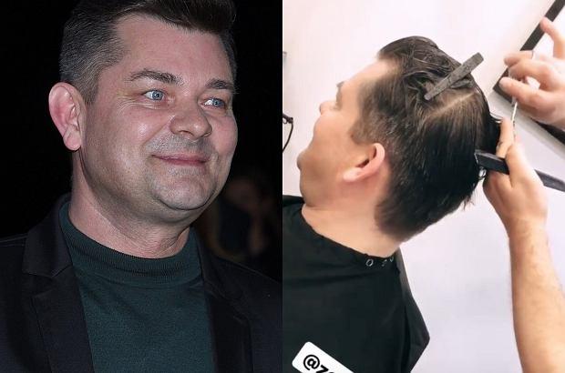 Zenek Martyniuk odwiedził swojego ulubionego fryzjera w Warszawie. Piosenkarz i jego syn Daniel postanowili odświeżyć wizerunek z okazji zbliżającego się chrztu Laury.