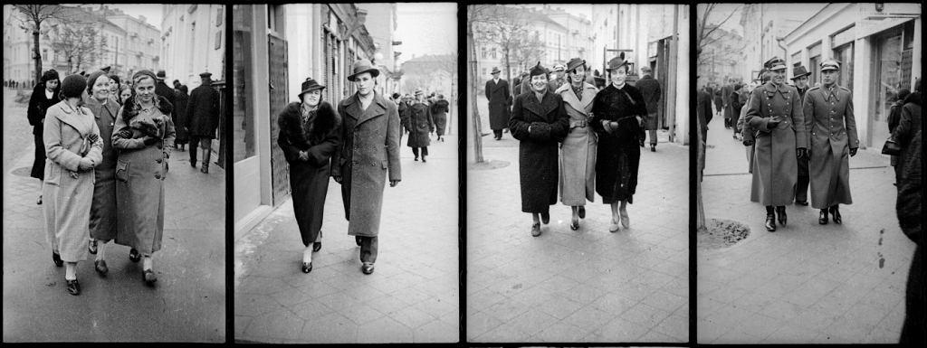 Białystok, ulica Kilińskiego w roku 1936