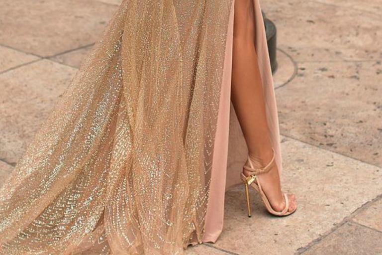 a5994d994a Długa sukienka na wesele  Jeśli tak