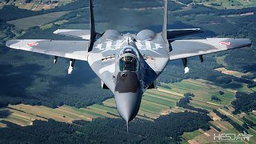 Wspólna sesja samolotów  F-16, Su-22 i MiG-29