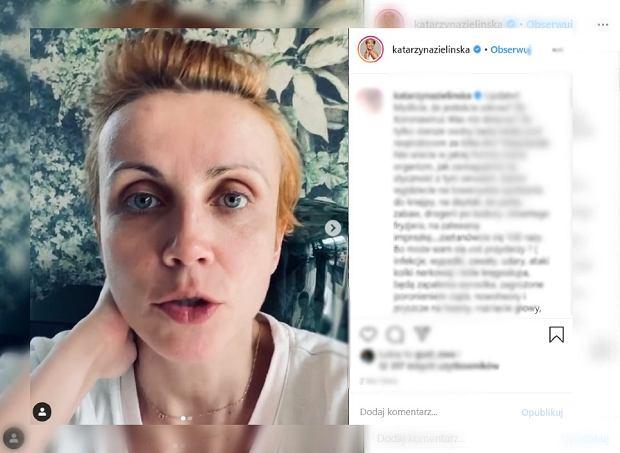 """Katarzyna Zielińska zorganizowała akcję: """"W telefonie, na tablecie ciotka z wujkiem bajki plecie"""""""