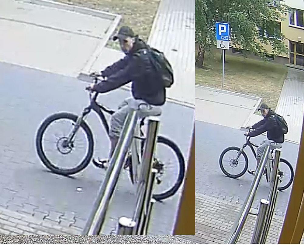 Złodziej w zamian skradzionego roweru zostawił swój. Policja publikuje wizerunek