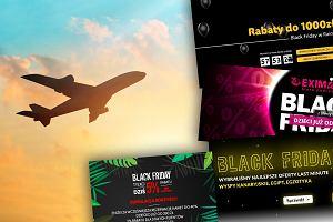 Tańsze bilety lotnicze i zagraniczne wycieczki z okazji Black Friday przez cały weekend. Są rabaty nawet do 1000 złotych