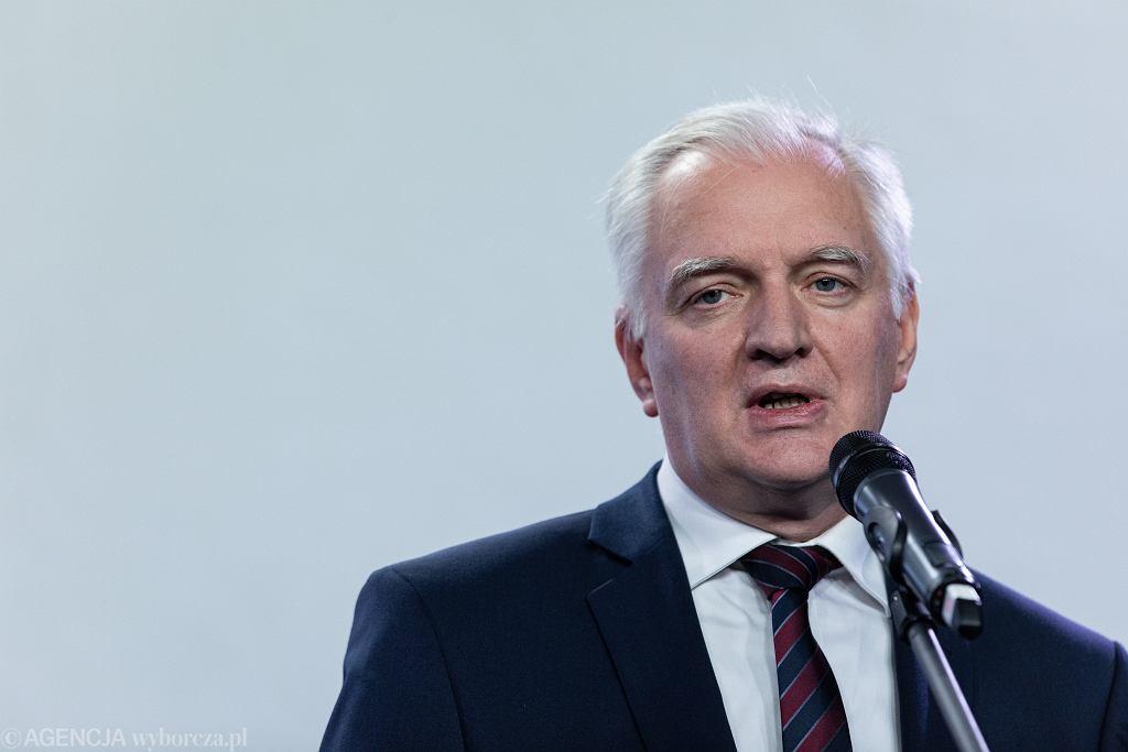 Jarosław Gowin.