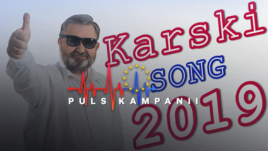 Nowy spot wyborczy Karola Karskiego to chwytliwa piosenka disco-polo