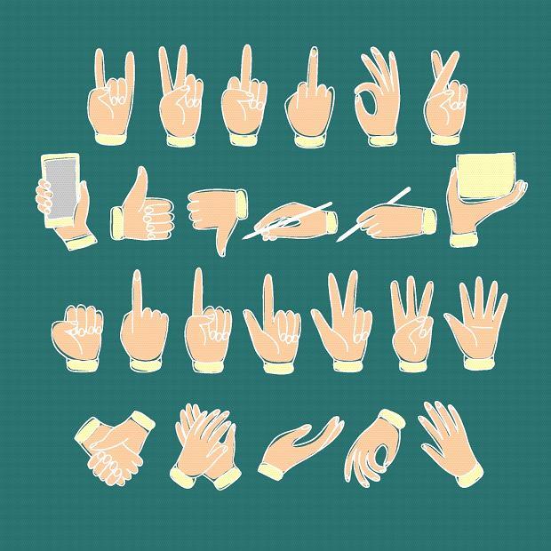 """Nie tylko """"rogi"""": gesty, na które należy uważać"""