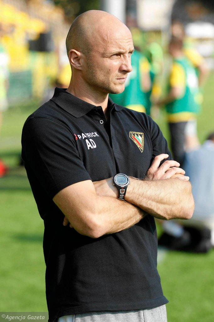 Artur Derbin, trener Zagłębia Sosnowiec