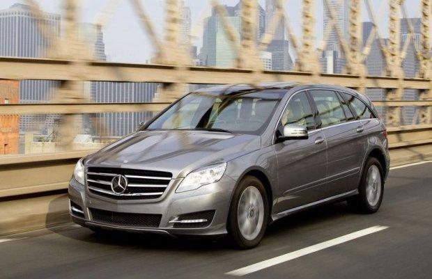 Mercedes Klasy R   Nowe miejsce produkcji