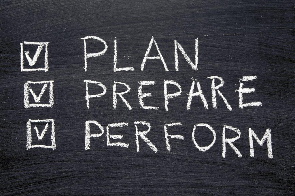 Trzeba racjonalnie planować i sumiennie się przygotować. Występ na zawodach będzie wisienka na torcie.