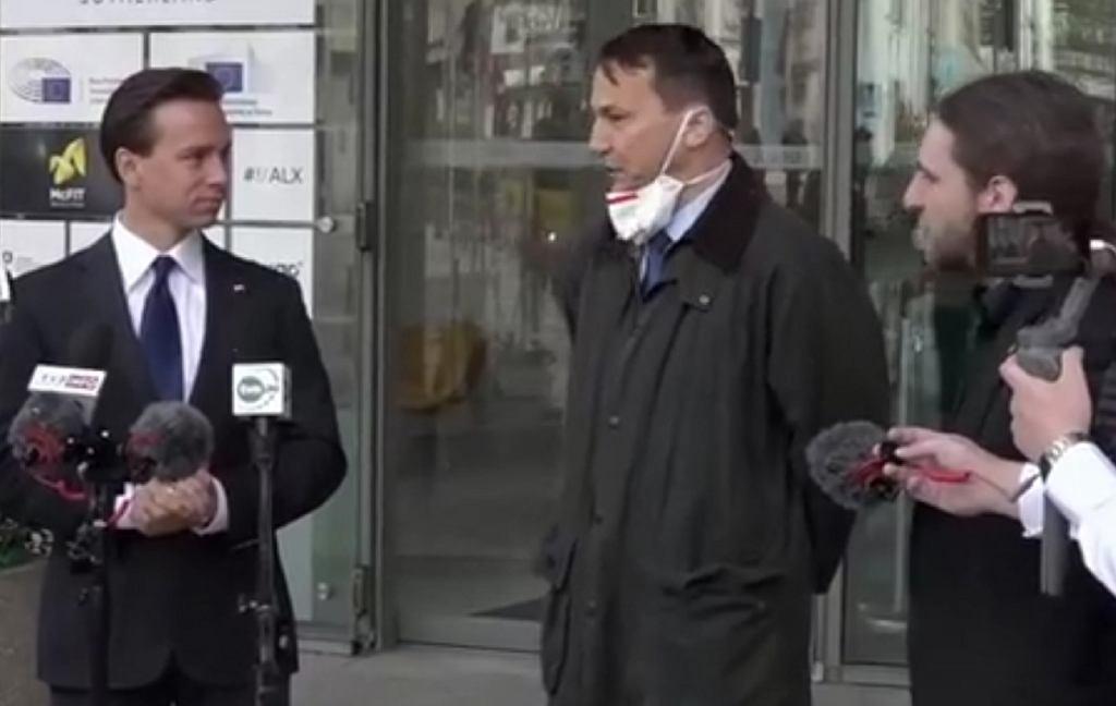 Krzysztof Bosak, Radosław Sikorski, Dobromir Sośnierz