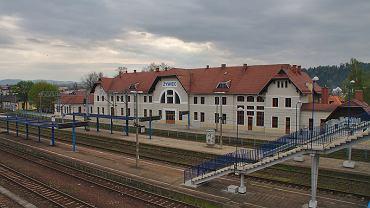 Dworzec PKP w Żywcu
