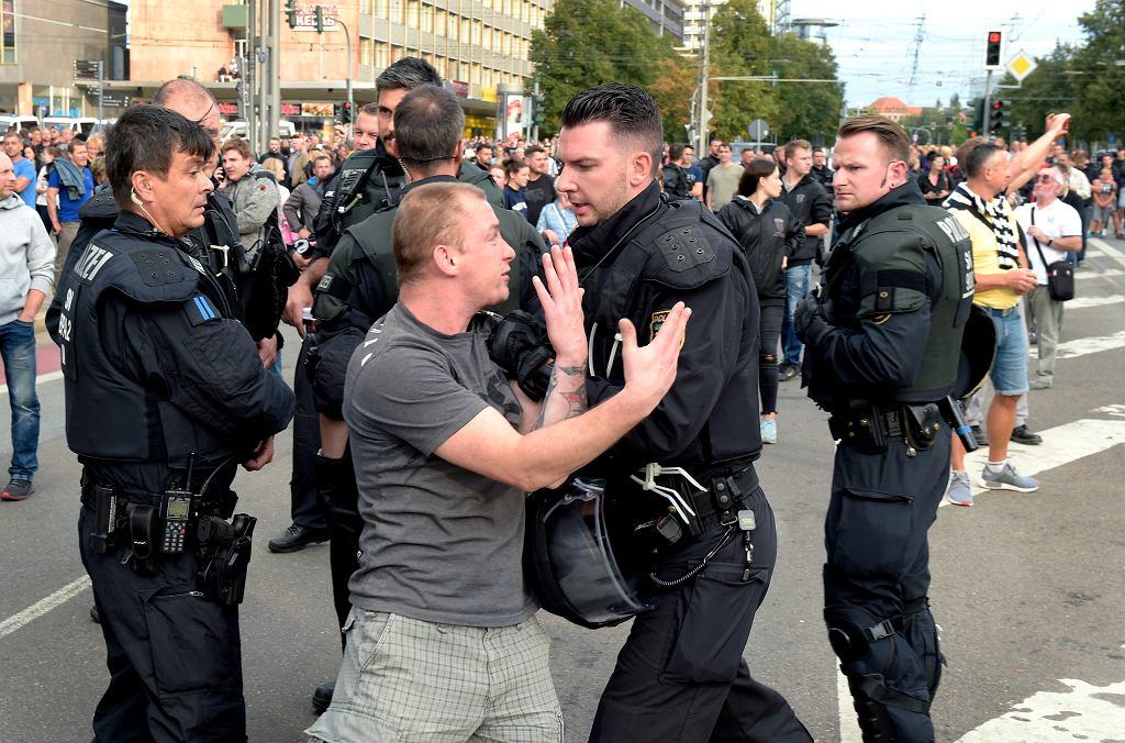Zamieszki w Chemnitz