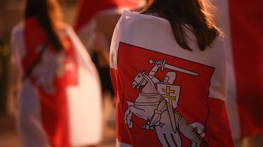 Akcja solidarności z Białorusią - 'Stop represjom' (zdjęcie ilustracyjne)