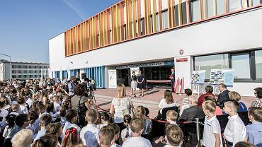 Otwarcie nowej szkoły podstawowej numer 360 w Warszawie