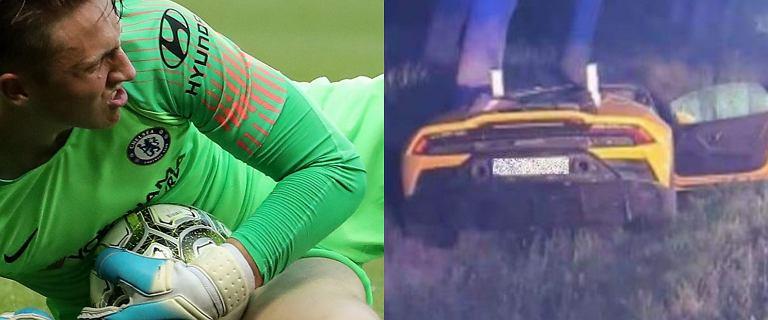 Marcin Bułka miał wypadek! Piłkarz rozbił Lamborgini za ponad milion złotych