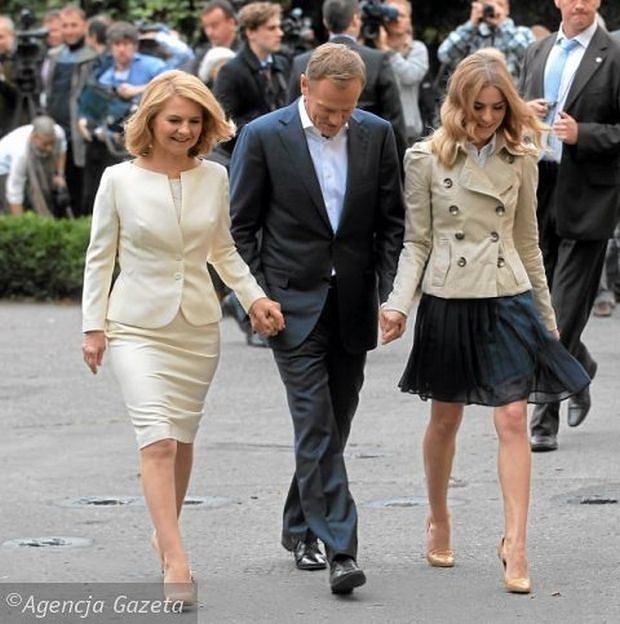 Małgorzata Tusk, Donald Tusk, Kasia Tusk