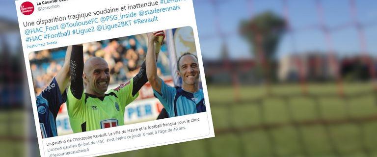 Piłkarska Francja w szoku. Nie żyje były bramkarz PSG