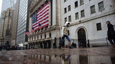 Budynek giełdy w Nowym Jorku.
