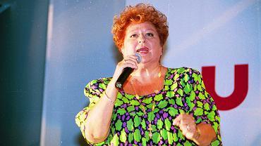 Danuta Rinn była matką chrzestną Kingi Rusin