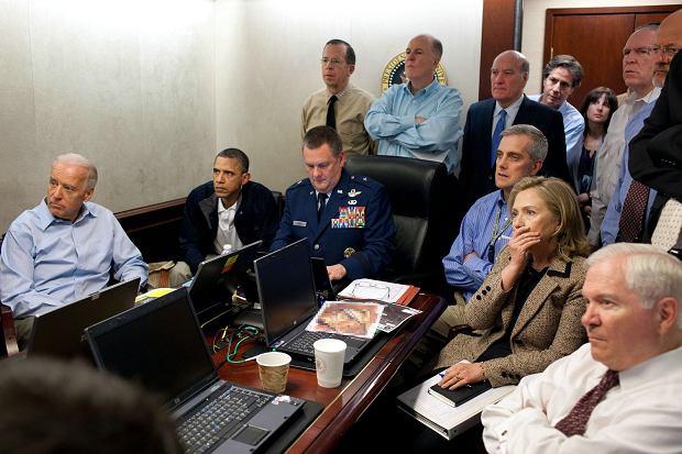 Zdjęcie wykonane podczas misji pojmania Osamy bin Ladena.