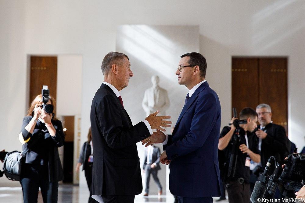 Mateusz Morawiecki i Andrej Babisz