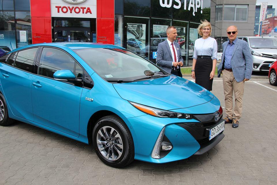 Toyota Prius Plug In - wydanie w Toyota Carter Gdańsk