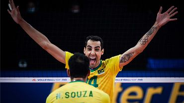 Liga Narodów: Iran - Brazylia, siatkówka