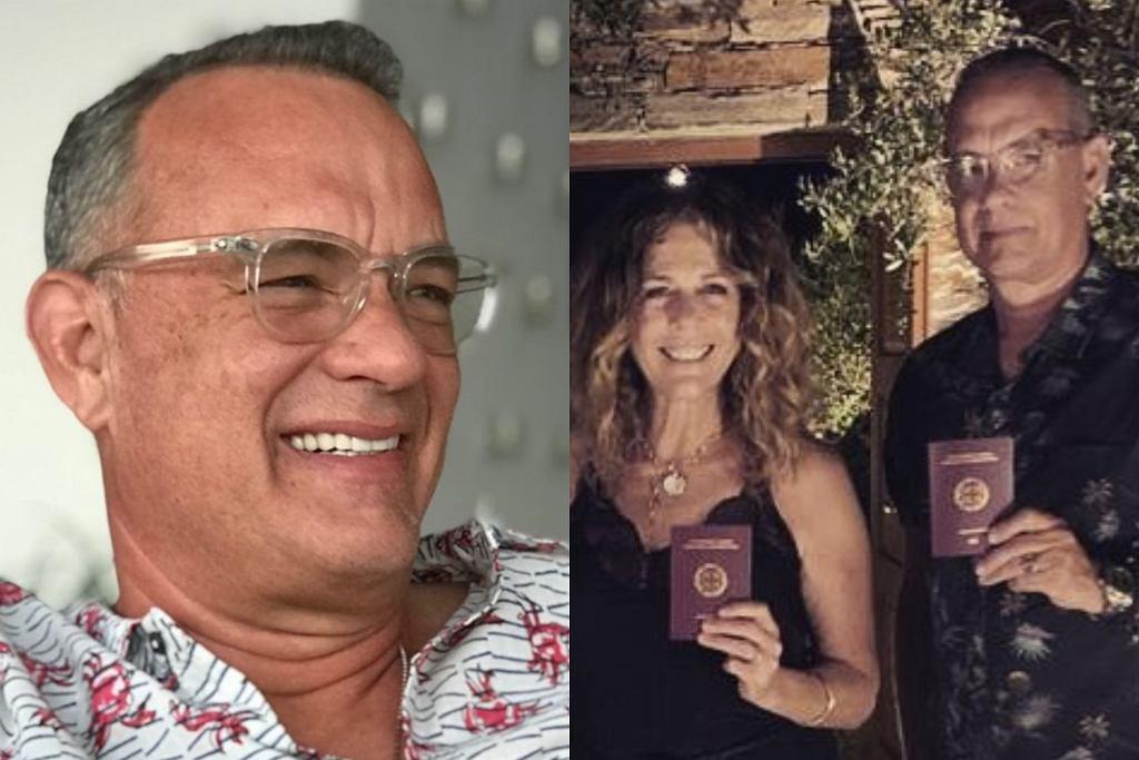 Tom Hanks i jego zona przyjęli greckie obywatelstwo