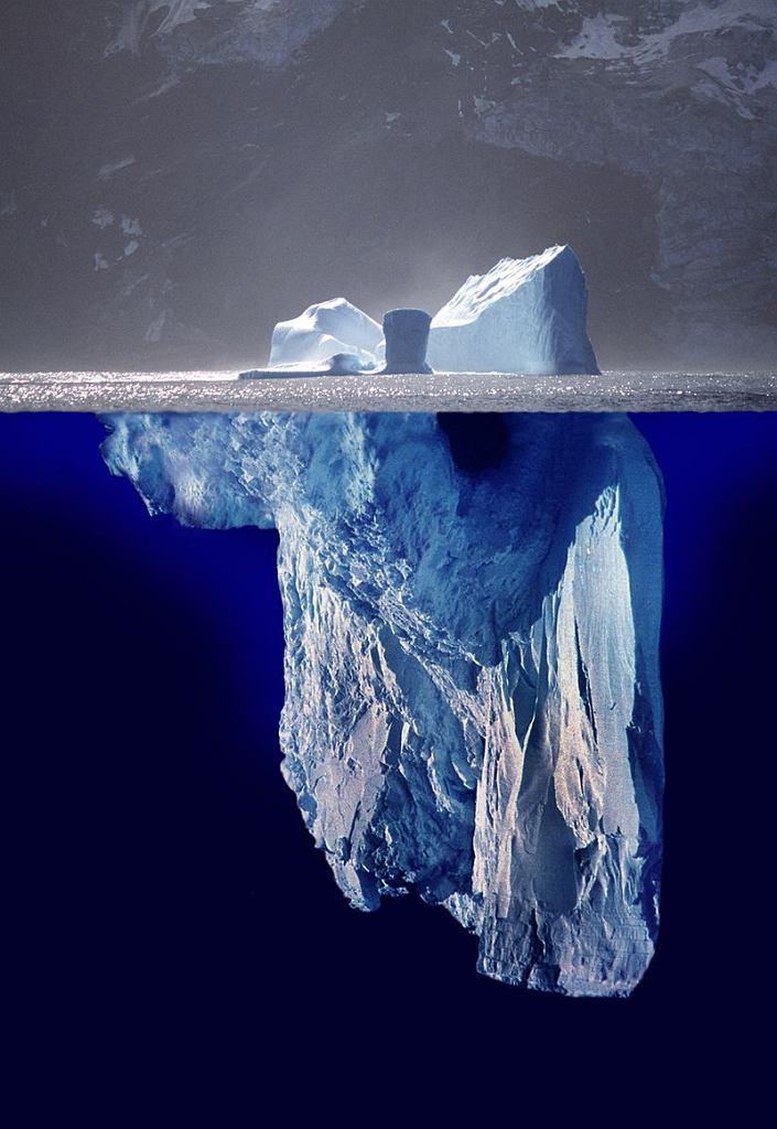 Schemat góry lodowej