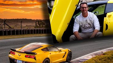 Mike Shickerowski i Chevrolet Corvette Grand Sport