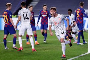 Robert Lewandowski strzelił gola, Bayern aż osiem! Szokująca porażka Barcelony