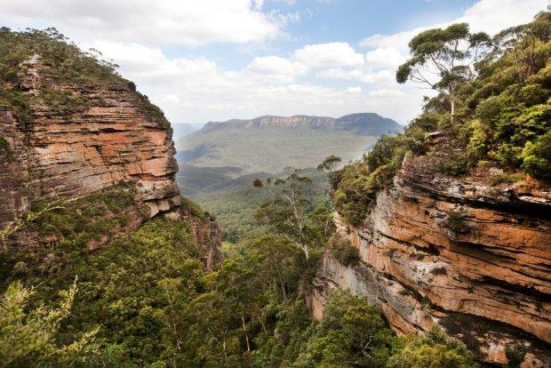 Blue Mountains w Australii to jedno z miejsc wartych odwiedzenia.