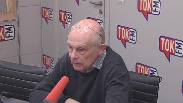 Marek Borowski w studiu TOK FM.