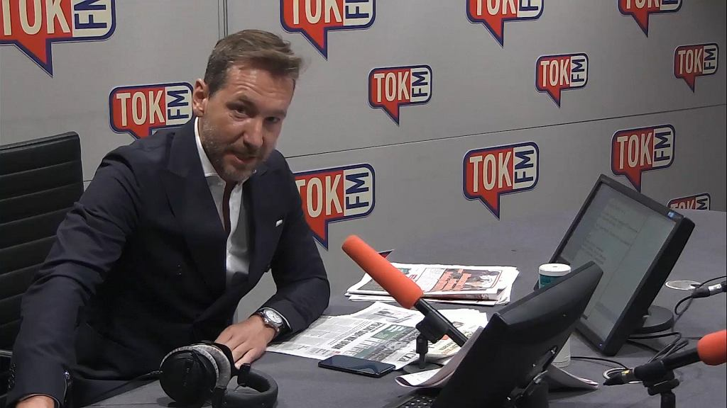 Piotr Kraśko w Radiu TOK FM.