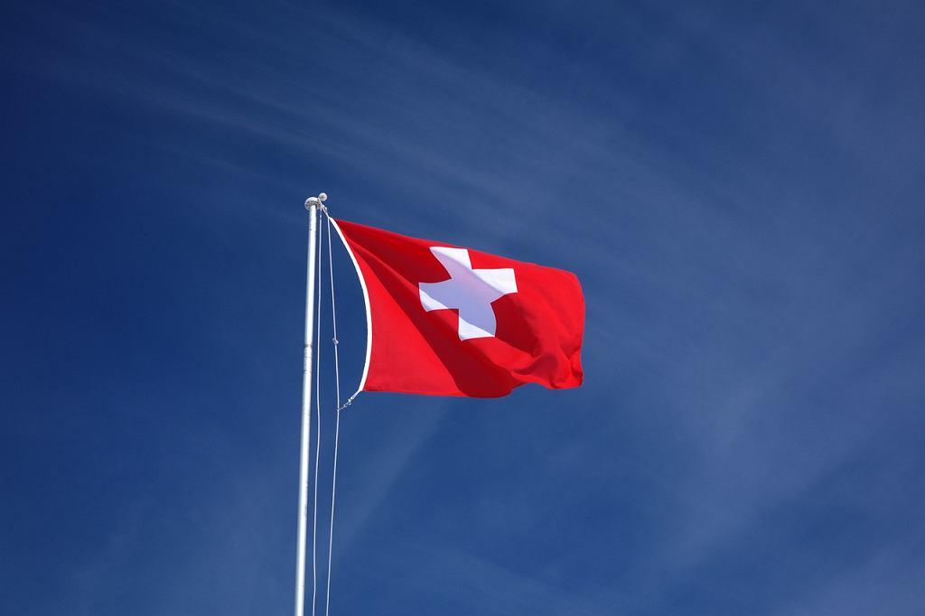 Szwajcarska flag