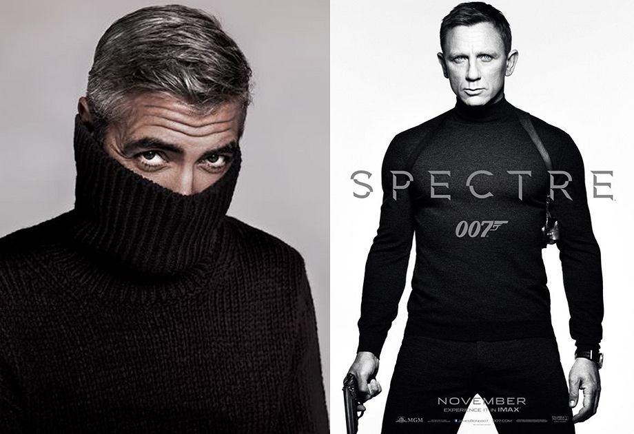 Daniel Craig wystąpił w golfie w najnowszym filmie o Jamesie Bondzie 'Spectre'. George Clooney też ma coś z Bonda - zamiłowanie do pięknych kobiet i...golf!