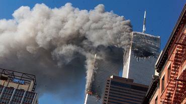 Zamach na WTC 11 września 2001 roku.