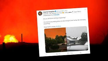Nagła zmiana klimatu w stanie Kolorado. 'Piekło zamarzło'