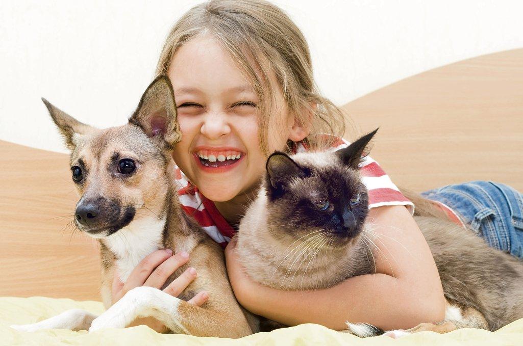 Rodziny, które nie trzymają zwierząt w domu, powinny od czasu do czasu zapewniać małym dzieciom kontakt z psami i kotami, by zwiększyć u nich tolerancję immunologiczną