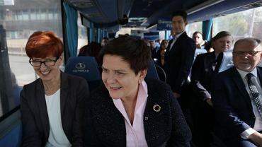 Elżbieta Rafalska i Beata Szydło ruszają na spotkania z wyborcami