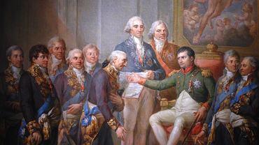 Marcello Bacciarelli, 'Nadanie konstytucji Księstwu Warszawskiemu przez Napoleona w 1807 roku' (1809-1811)